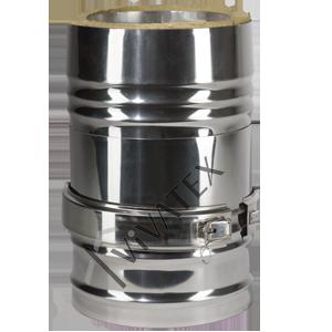 Телескопические трубы для дымохода котел с дымоходом 100